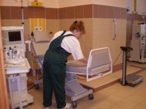 Уборка в медицинских учреждениях