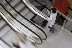 Уборка эскалаторов