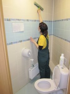 Уборка туалета