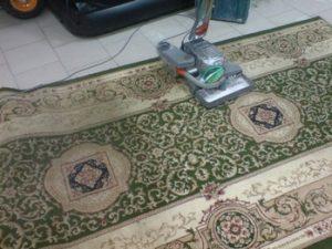 Сухая химчистка ковров