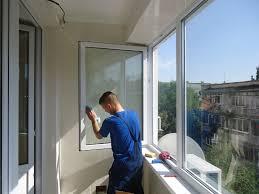 Мытье балконов и лоджий (окон)