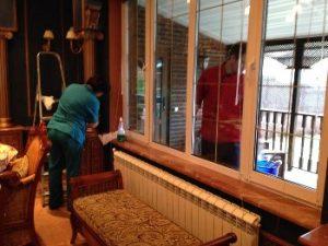 Уборка в частных домах